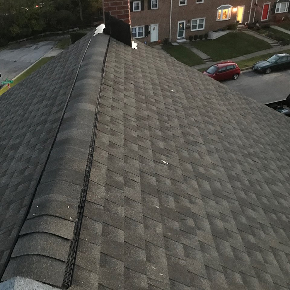 Arbutus Roofing Completed Job