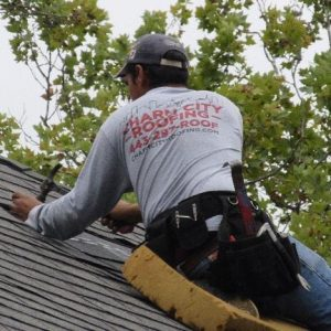 A Charm City Roofer Tacks On New Shingles