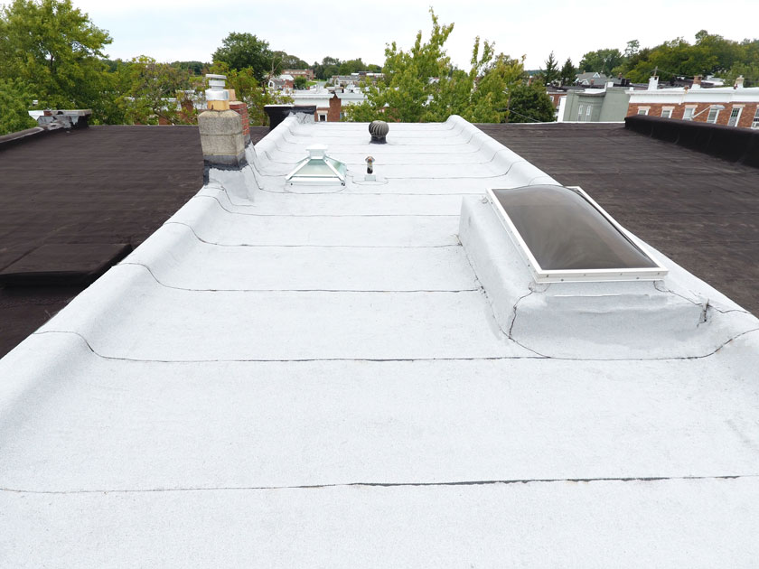 Flat Roof Baltimore Row Home