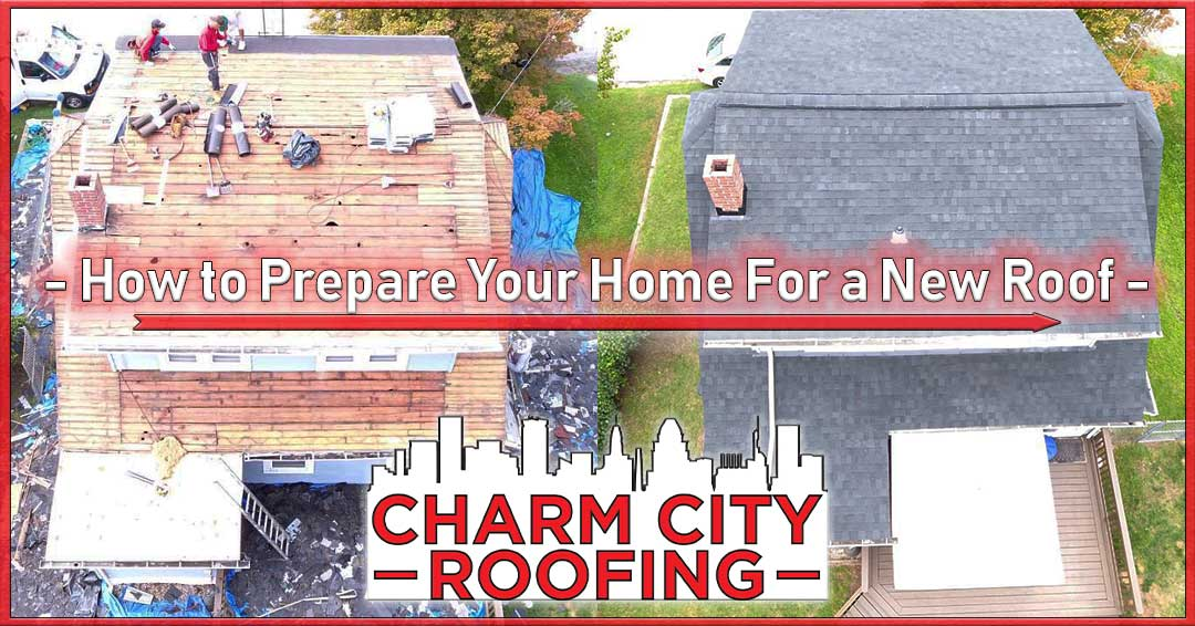Charm City Roofing Prepare For New Roof Installation