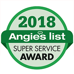 Angie's List 2018 Super Service Award presented to Charm City Roofing