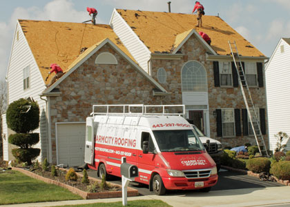 Charm-city-roofing-shingle-roof-installation