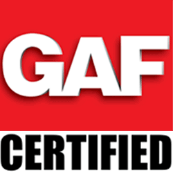 Charm City Roofing has the distinction of being a GAF Certified roofer.
