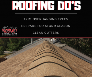 Charm City Roofing Roof Maintenance Do's