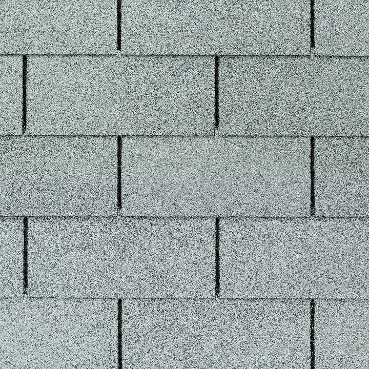 GAF Royal Sovereign 3 tab strip shingle - Silver Lining Close Up