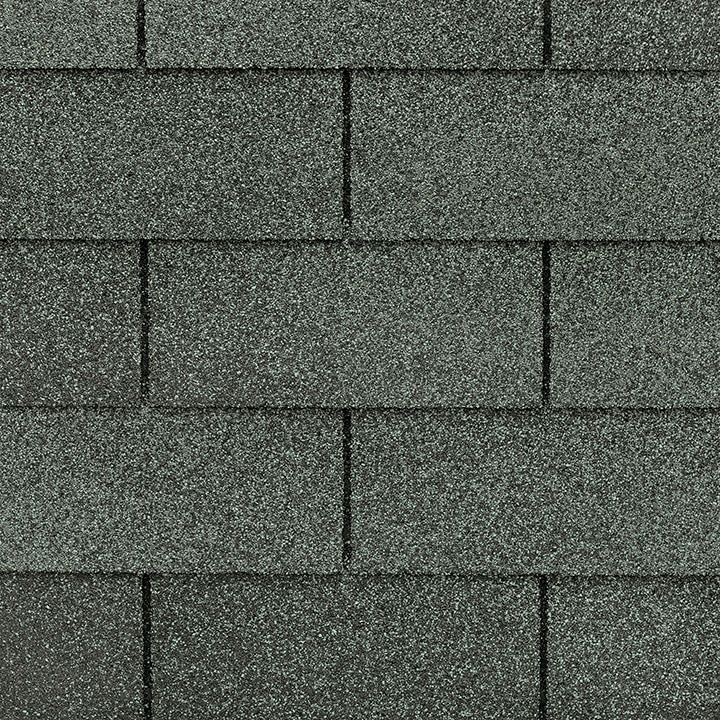 GAF Royal Sovereign 3 tab strip shingle - Slate Close Up