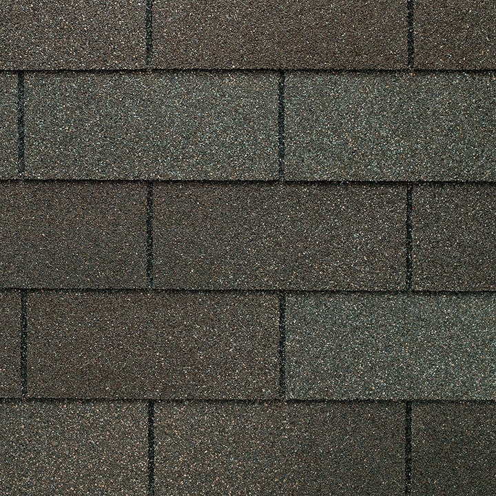 GAF Royal Sovereign 3 tab strip shingle - Weathered Gray