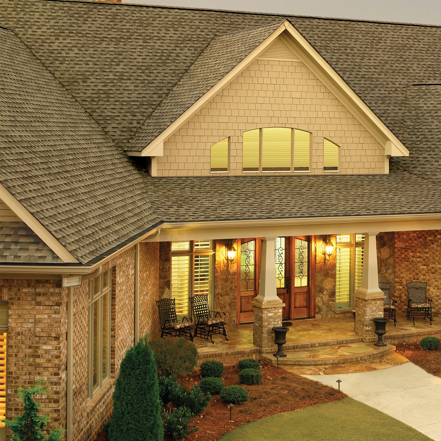 GAF TImberline HD Shingles - Weathered Wood