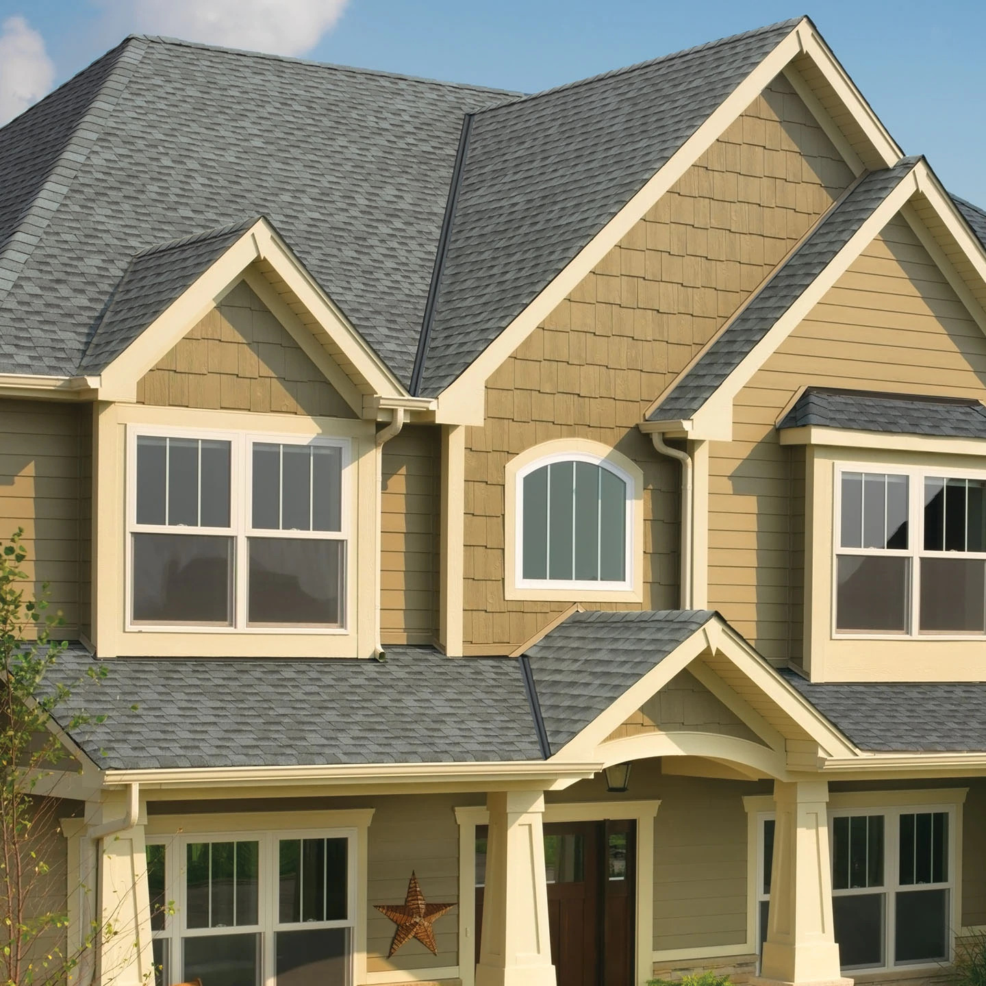 GAF TImberline HD Shingles - Pewter Gray