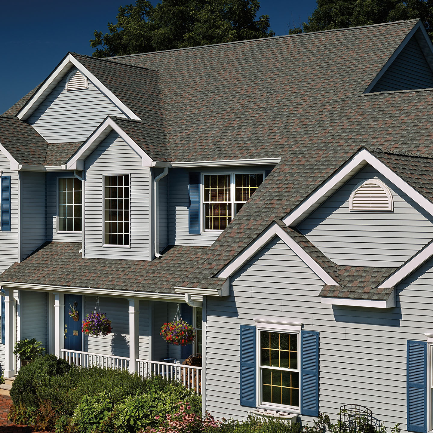 GAF TImberline HD Shingles - Williamsburg Slate