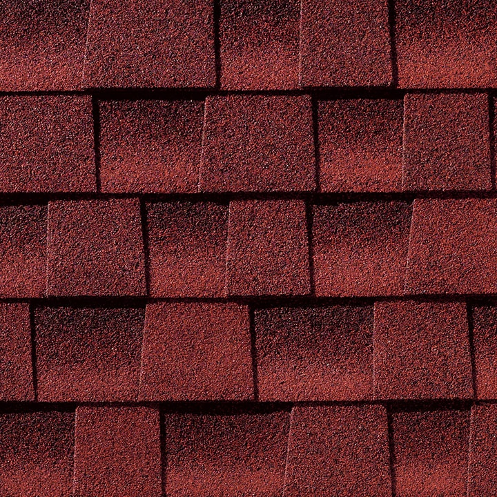 GAF Timberline HD Shingle - Patriot Red