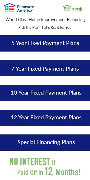 Renovate America's Benji Financing Plans