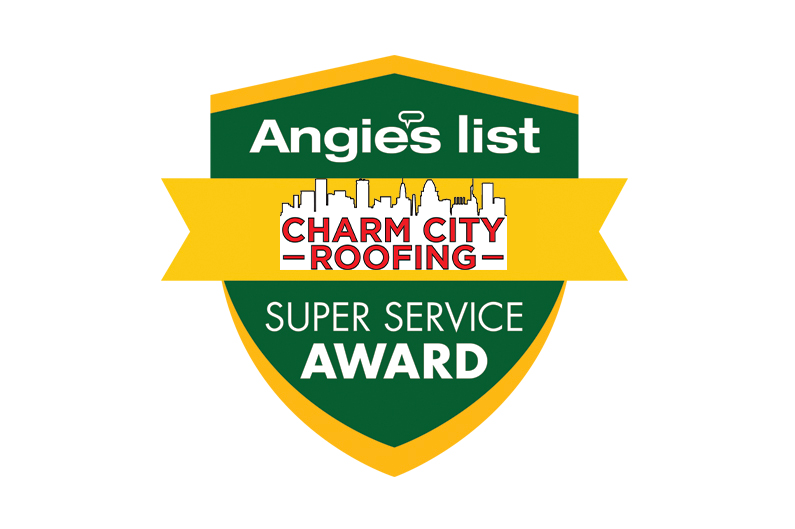 Charm City Roofing Anglie's List Super Service
