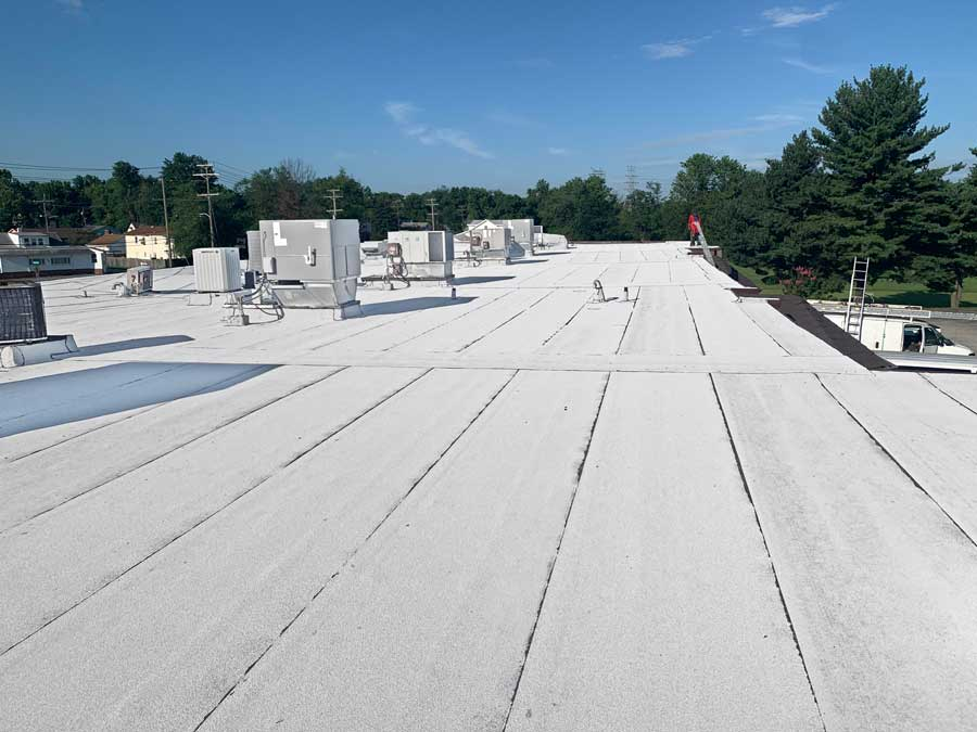 Charm City Roofing Installs GAF Modified Bitumen Commercial Roofing