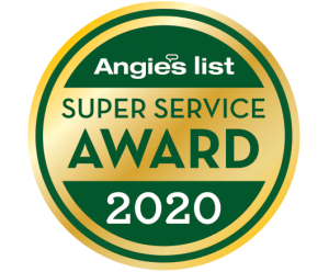 Charm City Roofing Anglie's List Super Service Award 2020