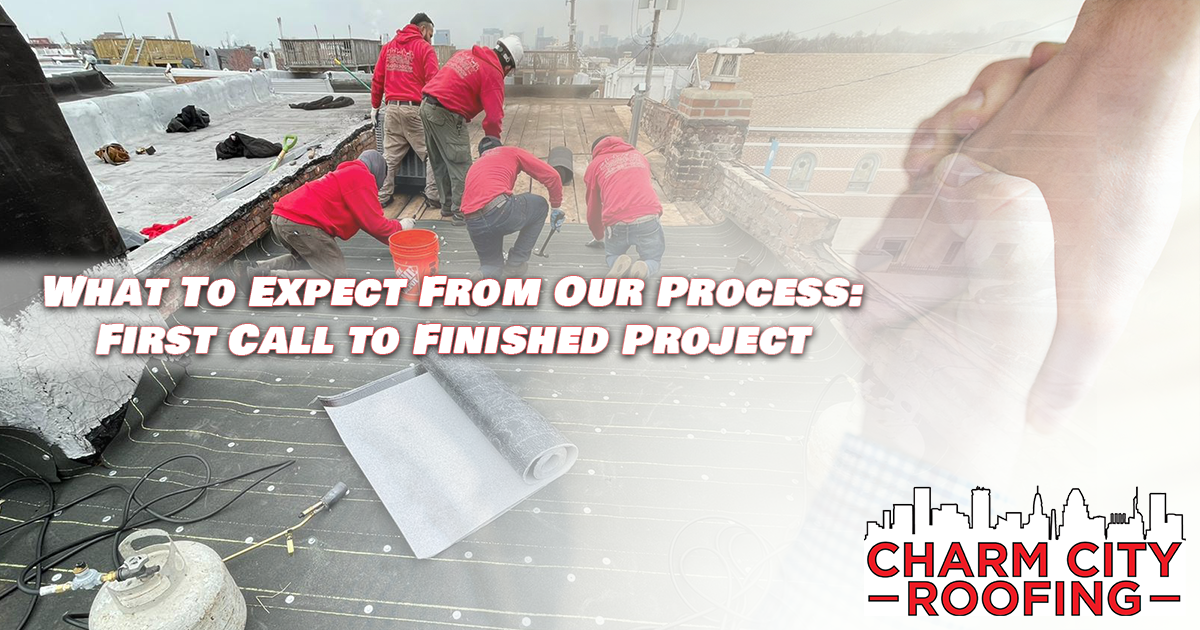 What To Expect When You Call Charm City Roofing