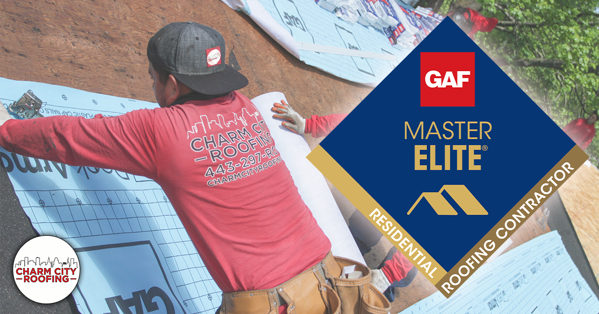 We're Officially A GAF Master Elite Contractor!