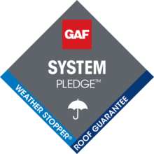 GAF System Pledge Weather Stopper Commercial Roofing Warranty