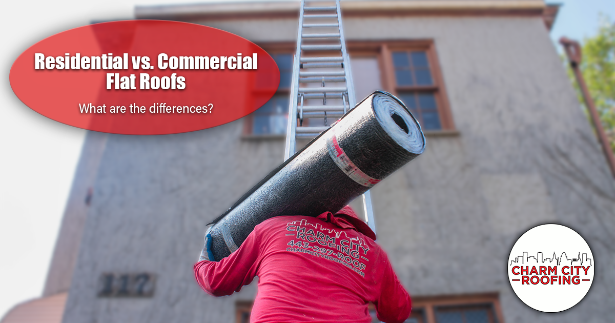 Residential Vs. Commercial Flat Roofs – What's The Difference?